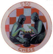 Walls that Teach chess symbol